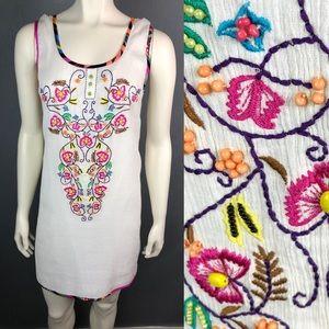 NWT Kas New York for ModCloth embroidered dress